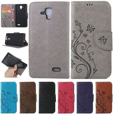 Magnetic Wallet Flip PU Leather+TPU Stand Card Case Cover For Huawei Lenovo