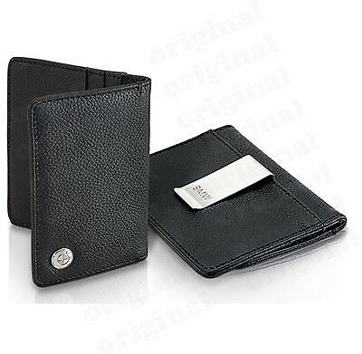 OEM BMW Credit Card Business Card Holder With Money Clip 80212344448