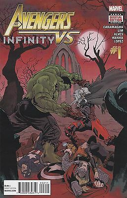 Avengers Vs Infinity #1 One-Shot  Marvel New Bagged & Boarded Free Uk P&p