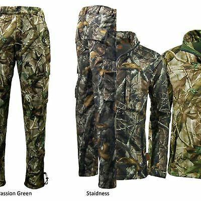 Game Camo Tecl-wood Softshell Waterproof Jacket &/or Trouser. Hunting / Shooting