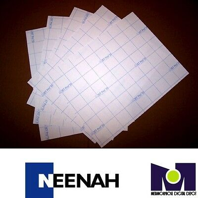 NEENAH TRANSFER PAPER JET PRO SS LIGHT FABRICS 50 SHEETS Best Price in E Bay