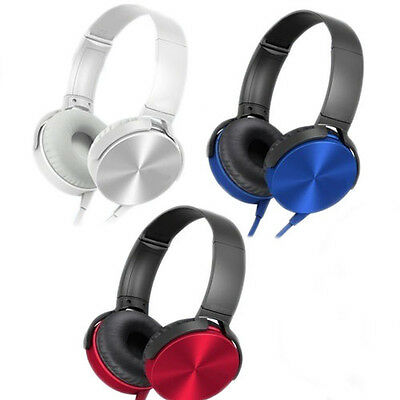 Cuffie Auricolari Stereo Audio Mp3 Smartphone Iphone Samsung Per Pc