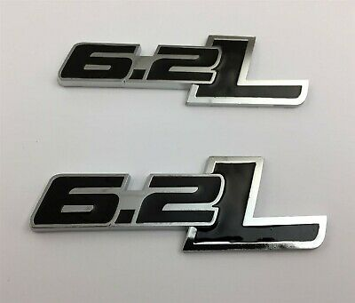 "PAIR FORD TRUCK RAPTOR SVT EMBLEMS ALL BLACK 4-3//4/"" X 1/"" NEW SET"