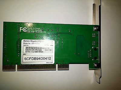 DYNEX GIGABIT PCI ADAPTOR WINDOWS 7 64 DRIVER
