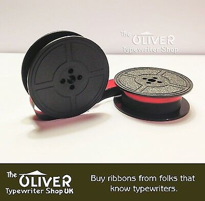 Compatible Brother  210  Typewriter Ribbon & Spool  (Gr9) Black Or Black And Red