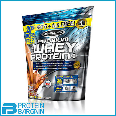 Muscletech 100% Whey Protein Plus 5lbs + 1lbs FREE BEST PRICE ONLINE!!!