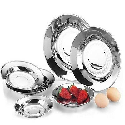 Stainless Steel Thickening Dish Plate Tableware