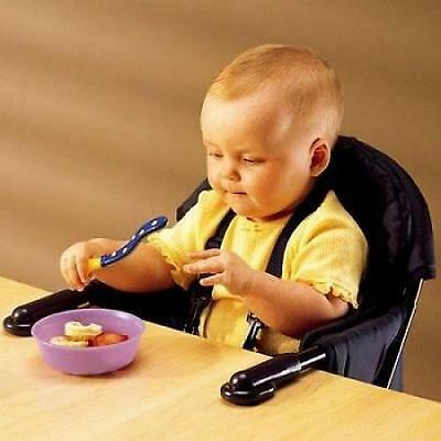 Portable Baby High Chair Hook on Table Infant Travel Seat Feeding Easy Dinner