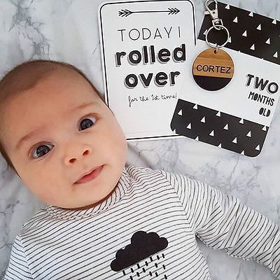 Baby Milestone Cards -  Baby Photo Cards, Milestone Markers, Baby Shower Gift