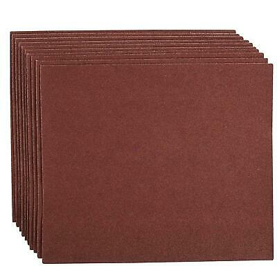 Emery Cloth Hand Sanding Sheets 10pk Grit 80 Quality For Metal & Rust Removal