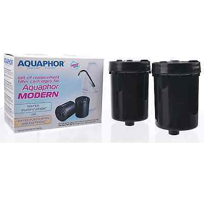 AQUAPHOR MODERN Faucet Tap Water Filter Replacement Cartridges 4000 Litres