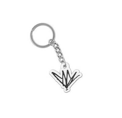 Chris Cornell Signature Logo Rubber Keyring/Keychain NEW OFFICIAL