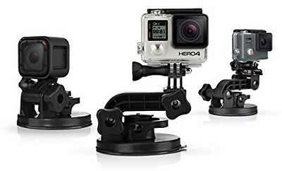 GoPro Suction Cup Mount Adjustable For Cars Boats Motorcycles Holds Up to 150mph