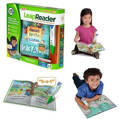NEW Leapfrog LeapReader (Green) Childs Reading and Writing System Learning Games