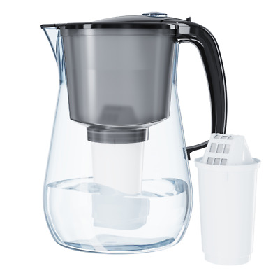 AQUAPHOR PROVENCE BLACK 4.2 L Filter Jug Bactericidal Additive Cartridge 300 L