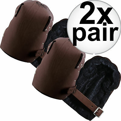 2pk Top Grain Leather Construction Knee Pads Custom Leathercraft 309 New