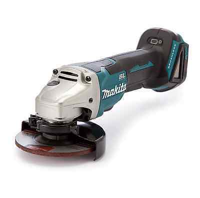 Makita Dga455Z Brushless Angle Grinder 18V 115Mm Paddle Switch Body Only New
