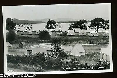 MILLAROCHY  - Loch Lomond - Lochside Camping Site  with Caravans and Tents  RP