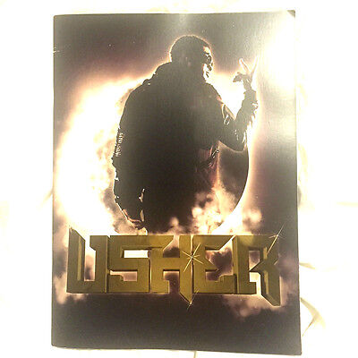 Usher 2010 OMG Tour Program