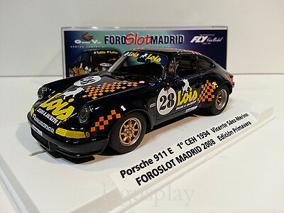 Slot car SCX Scalextric Fly 99116 Special Edition Foro slot Porsche 911 S