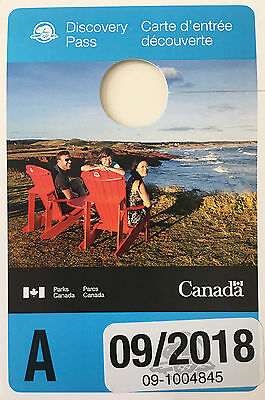 Canada Annual National Park Pass - Permit