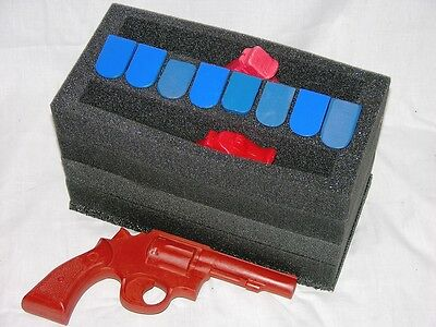 Precut Foam Kit fits 50cal 50 cal caliber Ammo Can holds 2 Pistols +10 mags