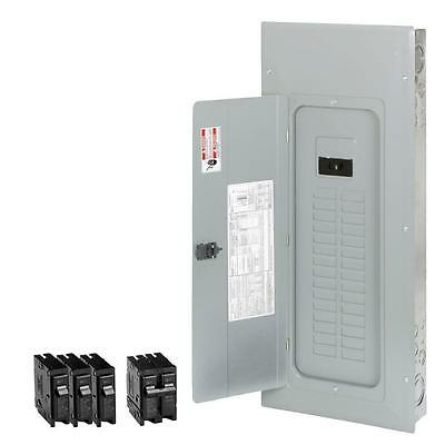 Eaton 200-Amp 30-Space 40-Circuit Main-Breaker Box Indoor Home Electrical-Panel