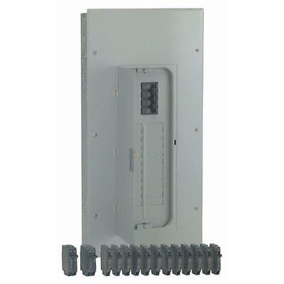 GE 200-Amp 20-Space 40-Circuit Flush-Surface Home Indoor Main-Breaker-Box Panel