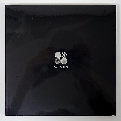 BTS - WINGS (Vol.2) [G version] + Folded Poster + Free Gift + Tracking no.