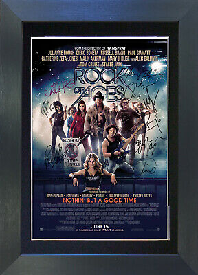 ROCK OF AGES Signed Mounted Autograph Photo Prints A4 135