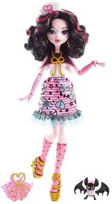 Monster High Shriek Wrecked Draculaura Doll