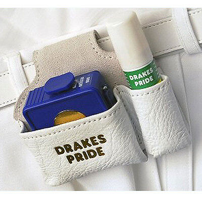 DRAKES PRIDE LEATHER ACCESSORY POUCH (CONTENTS NOT INCLUDED). UK Postage free.