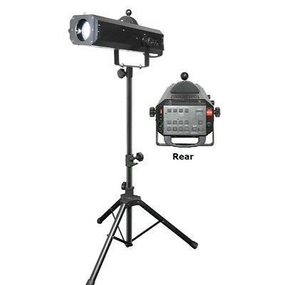 Chauvet Lighting LED Follow Spot 75ST - Portable LED Followspot with Stand