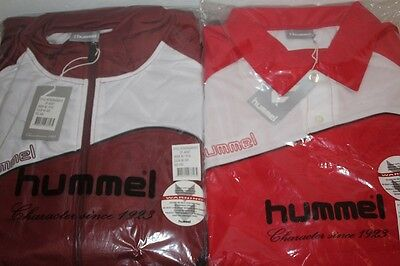 MENS Sports - HUMMEL JACKET + POLO TOP Pack - SIZE XXXL - BRAND NEW