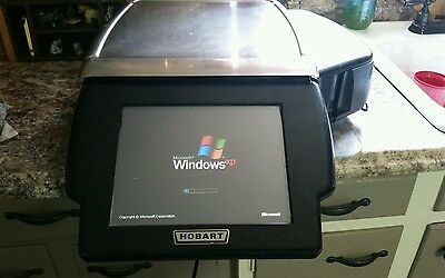 Hobart HLXWM Deli Scales with Printer,Very Good Condition.