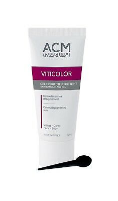 Skin Camouflage Gel VITICOLOR Vitiliginous Skin Coloration Face and Body 50ml