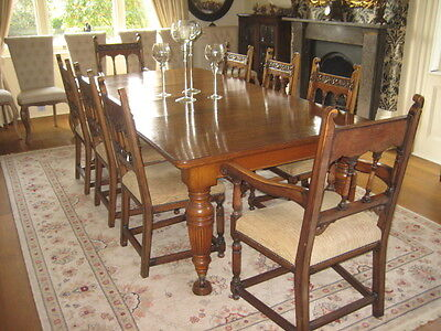 Dining Chairs 1 sold as a set of 8
