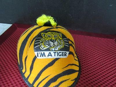 Rare Vintage 1960's Humble Oil ESSO Kids/Toddler Beanie Caps (I'm A TIGER)