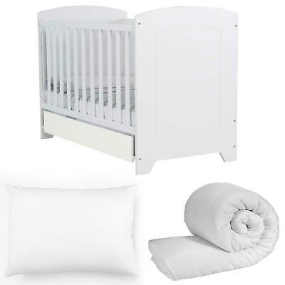 New Baby Nursery Toddler Cot Bed Duvet Anti Allergy Quilt And Pillow Junior Kids
