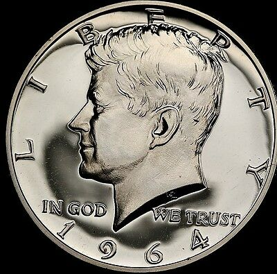 1964 50C (Proof) Kennedy Half Dollar 90% Silver Sealed OGP