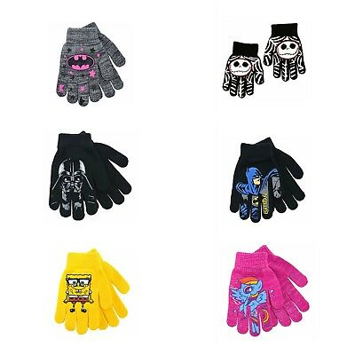 Children's Stretch Gloves Mittens Over 40 Different TV Movie Characters!!!