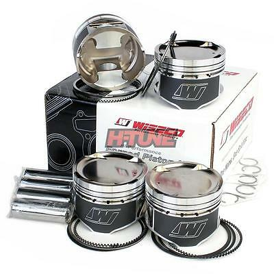 Wiseco Forged Pistons & Rings Set (87.00mm) - Honda H22A/H23A (Sleeve) (8.5-9.3:
