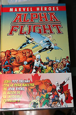 Alpha Flight Marvel Heroes Integral de John Byrne Panini