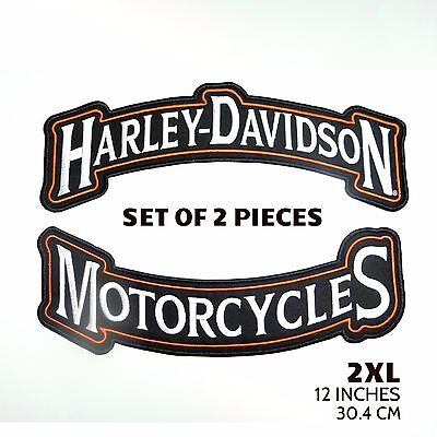 "Harley Davidson Set of 2 - 12"" Back Rockers (2XL)"