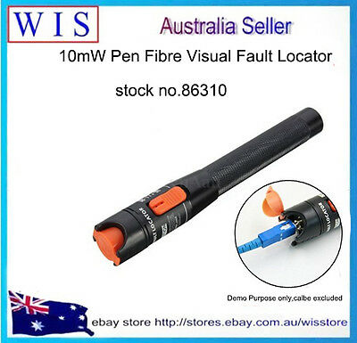 10mW Red Visual Fault Locator Fiber Optic Cable Tester Pen Type Test Tool-86310