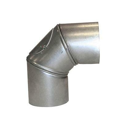 Stove pipe / Flue pipe kamino flam FAL Bogeknie 90° Ø120mm 3 pieces with Door