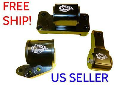 NYPPD Engine Mount kit 5 Sp 3 piece Mitsubishi Evolution 7-9 01 02 03 04 05 06 R