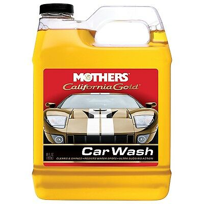 Mothers 05664 California Gold Car Wash - 64 oz. 64 Ounce
