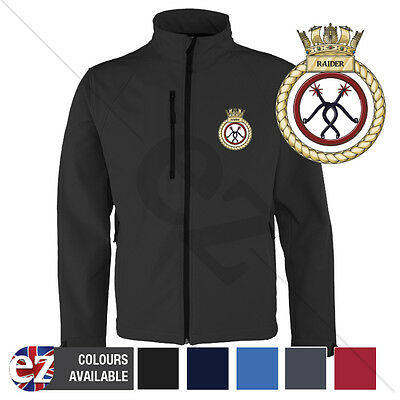HMS Raider - Royal Navy - Softshell Jacket - Personalised text available