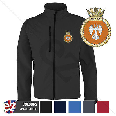 HMS Victorious - Royal Navy - Softshell Jacket - Personalised text available